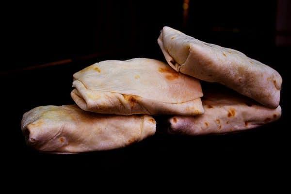 burritos de pollo